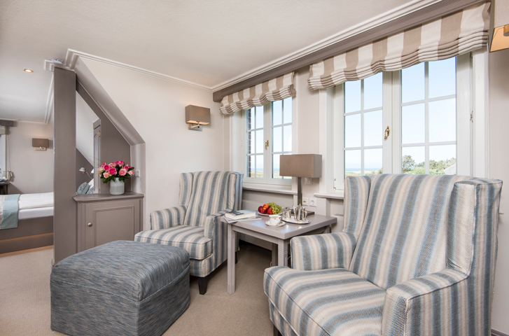 Double rooms with sea view