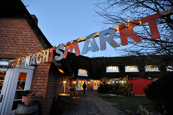 Christmas markets on Sylt